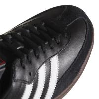 adidas Samba Classic 019000 Hallenfussballschuhe Leder - schwarz - Größe 39 1/3
