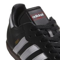 adidas Samba Classic 019000 Hallenfussballschuhe Leder - schwarz - Größe 40
