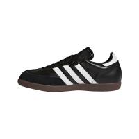adidas Samba Classic 019000 Hallenfussballschuhe Leder - schwarz - Größe 43 1/3