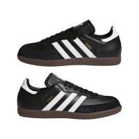 adidas Samba Classic 019000 Hallenfussballschuhe Leder - schwarz - Größe 44 2/3