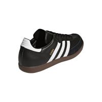 adidas Samba Classic 019000 Hallenfussballschuhe Leder - schwarz - Größe 46 2/3