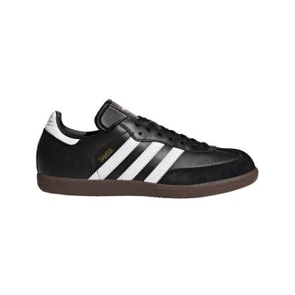 adidas Samba Classic 019000 Hallenfussballschuhe Leder - schwarz - Größe 47 1/3