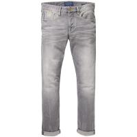 Scotch & Soda Ralston Stone and Sand Jeans Gr.33/32 grau
