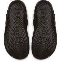 Nike Sunray Protect 2 (TD) Badesandale Kinder - BLACK/WHITE - Größe 7C