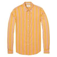 Scotch & Soda Freizeithemd mit Streifen gelb