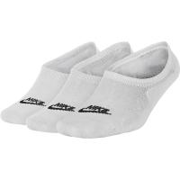 Womens Nike Sportswear Footie Socks (3 Pair) - WHITE - weiß - Größe XL