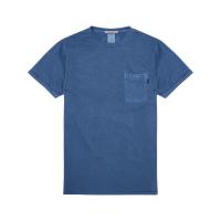Scotch & Soda T-Shirt mit Brusttasche indigo blau