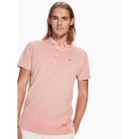 Scotch & Soda Jersey-Poloshirt - rosa - Größe M
