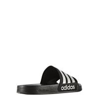 adidas Adilette shower Badesandale Herren - schwarz - Größe 47 1/3