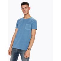 Scotch & Soda Ams Blauw T-Shirt - blau - Größe S
