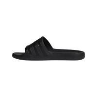 adidas Adilette aqua Badeslipper Herren - schwarz - Größe 43 1/3
