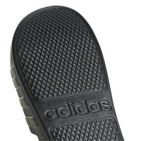 adidas Adilette aqua Badeslipper Herren - schwarz - Größe 47 1/3