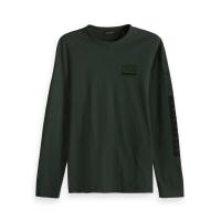 Scotch & Soda Langarmshirt grün