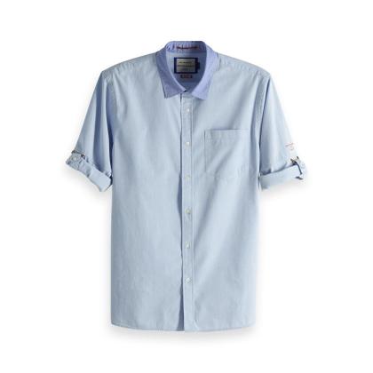 Scotch & Soda Freizeithemd - hellblau - Größe L