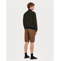 Scotch & Soda Basic Chino-Shorts - braun - Größe 33
