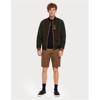 Scotch & Soda Basic Chino-Shorts - braun - Größe 36