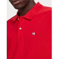 Scotch & Soda Piqué-Poloshirt - rot - Größe M