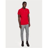 Scotch & Soda Piqué-Poloshirt - rot - Größe XL