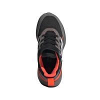 adidas RapidaRun Elite S&L EL K Runningschuhe Kinder - CBLACK/FTWWHT/SOLRED - Größe 28-