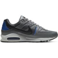 Nike Air Max Command Sneaker Herren - SMOKE GREY/BLACK-HYPER BLUE - Größe 7,5