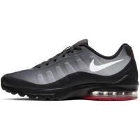 Nike Air Max Invigor Sneaker Herren - OFF NOIR/WHITE-SKY GREY-UNIVERSITY RED - Größe 7,5