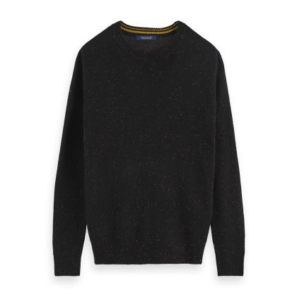 Scotch & Soda Effektvoller Pullover schwarz - Black - schwarz - Größe XL