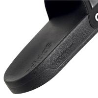 adidas adilette Shower - CBLACK/GRESIX/FTWWHT - Größe 6