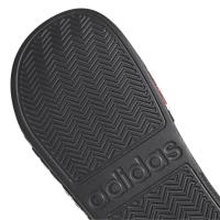 adidas adilette Shower - CBLACK/GRESIX/FTWWHT - Größe 9