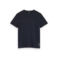 Scotch & Soda T-Shirt aus Baumwoll-Piqué - Night - Größe XL