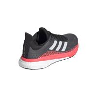 adidas Solar Glide ST 3 W Runningschuhe Damen - GREFIV/CRYWHT/SIGPNK - Größe 5