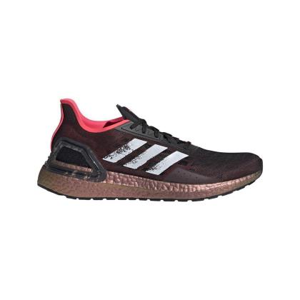 adidas Ultra Boost PB Runningschuhe Herren - CBLACK/FTWWHT/SIGPNK - Größe 9-