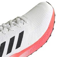 adidas Solar Boost 19 M Runningschuhe Herren - CRYWHT/CBLACK/COPPMT - Größe 8