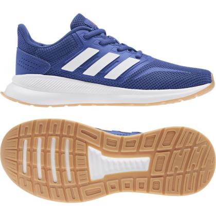 adidas Runfalcon K Runningschuhe Kinder - ROYBLU/FTWWHT/SESORE - Größe 3-