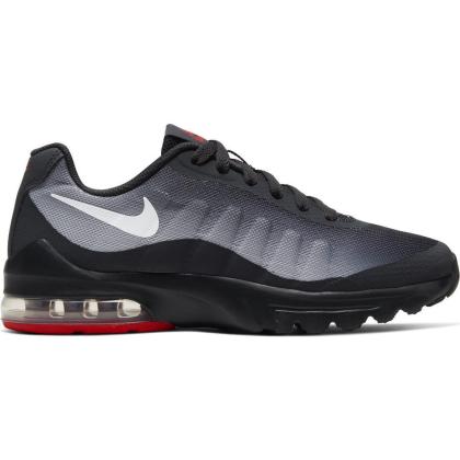 Nike Air Max Invigor Sneaker Kinder - OFF NOIR/WHITE-SKY GREY-UNIVERSITY RED - Größe 5.5Y