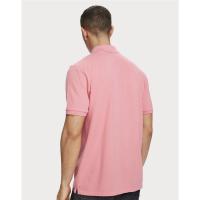 Scotch & Soda Piqué-Poloshirt - Hibiscus Pink - Größe XXL