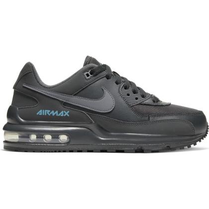 Nike Air Max Wright Sneaker Kinder - ANTHRACITE/COOL GREY-LT CURRENT BLUE - Größe 3.5Y