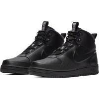 Nike Path Winter Winterschuhe Herren - BLACK/BLACK-MTLC PEWTER - Größe 9