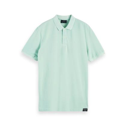 Scotch & Soda Poloshirt - mintgrün - Größe M