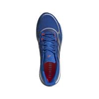 adidas Supernova + M Runningschuhe Herren - FOOBLU/SILVMT/SOLRED - Größe 9-