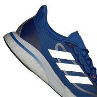 adidas Supernova + M Runningschuhe Herren - FOOBLU/SILVMT/SOLRED - Größe 10-