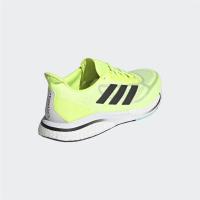 adidas Supernova + M Runningschuhe Herren - SYELLO/CBLACK/CLAQUA - Größe 9