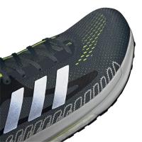 adidas Solar Glide 3 M Runningschuhe Herren - BLUOXI/SILVMT/SYELLO - Größe 10