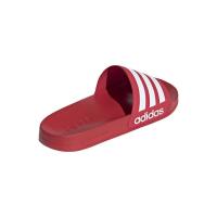 adidas Adilette Shower Badesandalen Herren - SCARLE/FTWWHT/SCARLE - Größe 7