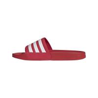 adidas Adilette Shower Badesandalen Herren - SCARLE/FTWWHT/SCARLE - Größe 11