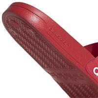 adidas Adilette Shower Badesandalen Herren - SCARLE/FTWWHT/SCARLE - Größe 12