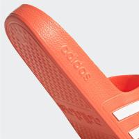 adidas Adilette Aqua Badesandalen Damen - SOLRED/FTWWHT/SOLRED - Größe 6