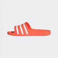adidas Adilette Aqua Badesandalen Damen - SOLRED/FTWWHT/SOLRED - Größe 7