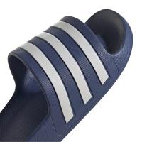adidas Adilette Aqua Badesandalen Damen - CREBLU/FTWWHT/CREBLU - Größe 6