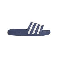 adidas Adilette Aqua Badesandalen Damen - CREBLU/FTWWHT/CREBLU - Größe 8