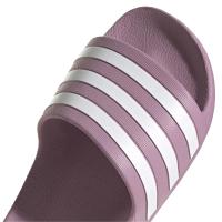 adidas Adilette Aqua Badesandalen Damen - CHEMET/FTWWHT/CHEMET - Größe 8